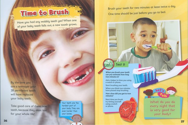Teethopenbook Lioncrest Education - Dental Health Week